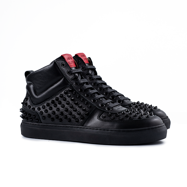 8016 High Top - Pointy Black