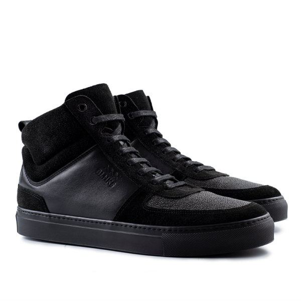8016 High Top Sneaker - The Dark Knight