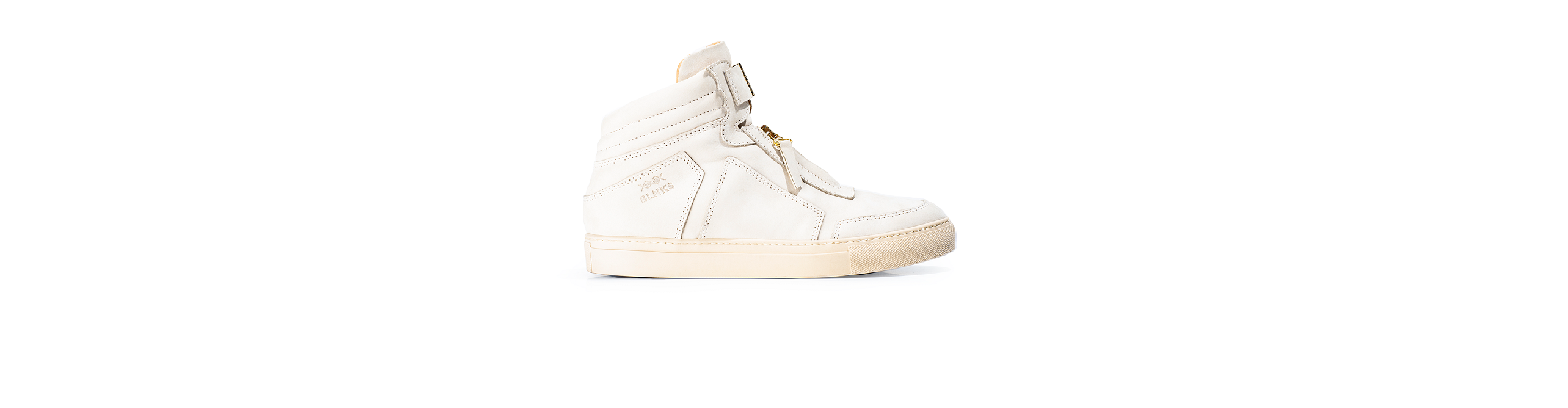 8015 High Top Zipper Sneaker - Sandstorm